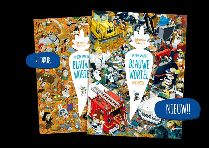 Blauwe wortel Leonon kinderboeken
